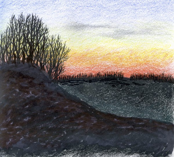 Winter-Sunset-6x6-2009