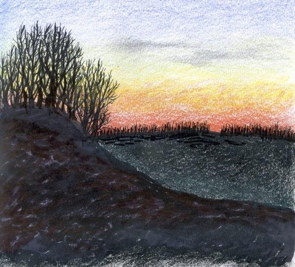 Winter-Sunset-6x6-2009